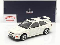 Ford Escort Cosworth year 1992 white 1:18 Norev