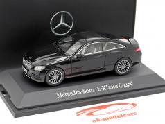 Mercedes-Benz E-classe Coupe (C238) obsidian preto 1:43 iScale