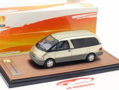 Toyota Previa year 1994 gold 1:43 GLM