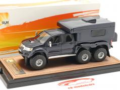 Toyota Hilux AT44 6x6 Arctic Truck Pick-Up RV Version 2014 azul escuro 1:43 GLM