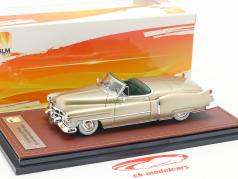 Cadillac Series 62 Special Roadster 1952 gold metallic 1:43 GLM