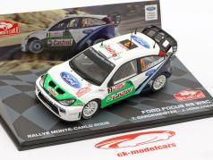 Ford Focus RS WRC #3 2nd Rallye Monte Carlo 2005 Gardemeister, Honkanen 1:43 Altaya