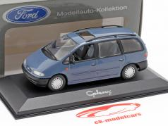 Ford Galaxy Ano 1996 azul 1:43 Minichamps