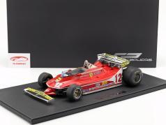G. Villeneuve Ferrari 312T4 Short Tail #12 Monaco GP F1 1979 1:12 GP Replicas