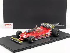 Gilles Villeneuve Ferrari 312T4 Short Tail #12 formule 1 1979 1:12 GP Replicas