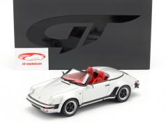 Porsche 911 Carrera 3.2 Speedster ano de construção 1987 prata 1:18 GT-SPIRIT