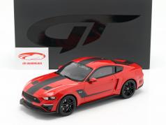 Roush Stage 3 Mustang Baujahr 2019 rot / schwarz 1:18 GT-SPIRIT