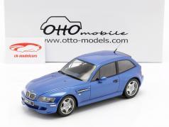 BMW Z3 M Coupe 3.2 ano de construção 1999 estoril azul 1:18 OttOmobile