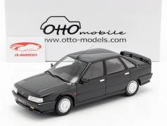 Renault 21 Turbo Ph.1 ano de construção 1986 preto 1:18 OttOmobile