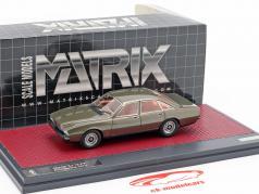 Jaguar XJ 12-PF pininfarina année de construction 1973 bronze métallique 1:43 Matrix