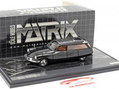 Citroen ID19 Cortege Slough Factory Hearse Baujahr 1962 schwarz 1:43 Matrix
