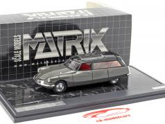 Citroen ID19 Cortege Slough Factory Hearse Baujahr 1962 grau 1:43 Matrix
