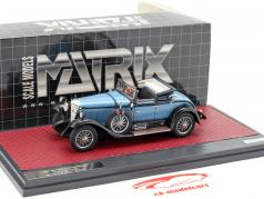 Mercedes-Benz 630K Sport Cabriolet Hibbard and Darrin Open Baujahr 1927 blau 1:43 Matrix