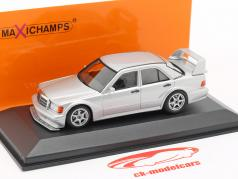 Mercedes-Benz 190E 2.5-16 EVO 2 year 1990 silver 1:43 Minichamps