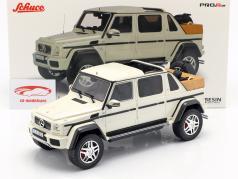 Mercedes-Benz Maybach G650 Landaulet hvid 1:18 Schuco