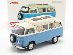 Volkswagen VW T2a Campingbus blau / weiß 1:18 Schuco