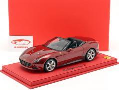 Ferrari California T Genfer Auto-Salon 2014 mit Vitrine rot 1:18 BBR