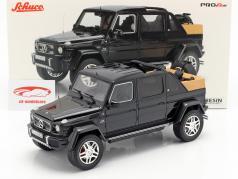 Mercedes-Benz Maybach G650 Landaulet mørkeblå 1:18 Schuco