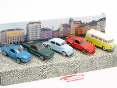 5-Car Set Vintage Gift pack 1:64 Majorette