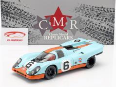 Porsche 917K Gulf #6 3ª 1000km Brands Hatch 1971 Bell, Siffert 1:18 CMR