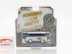 Volkswagen VW Type 2 (T1) Samba Bus Goodyear azul / amarelo / cinza 1:43 Greenlight