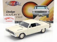 Dodge Dart GTS 440 year 1969 white 1:18 GMP