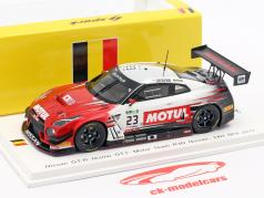 Nissan GT-R NISMO GT3 #23 24h Spa 2017 Ordonez, Buncombe, Chiyo 1:43 Spark