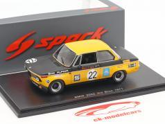 BMW 2002 #22 3. Div. 2 GP Brno 1971 Hans Stuck 1:43 Spark