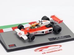 Gilles Villeneuve McLaren M23 #40 Großbritannien GP Formel 1 1977 1:43 Altaya
