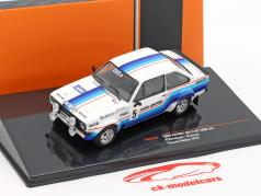 Ford Escort MK II RS 1800 #5 Sieger Hessen Rallye 1978 Hainbach, Linzen 1:43 Ixo