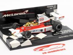 Emerson Fittipaldi McLaren M23 #1 Winner British GP F1 1975 1:43 Minichamps