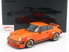 Porsche 934 year 1976 orange 1:12 Minichamps