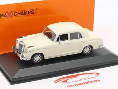 Mercedes-Benz 220 S (W180 II) year 1956 cream white 1:43 Minichamps