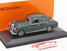 Mercedes-Benz 220 S (W180 II) ano de construção 1956 verde escuro 1:43 Minichamps