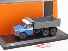 Tatra T 148 S3 dumper ano de construção 1977 azul / cinza 1:43 Ixo