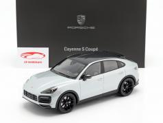 Porsche Cayenne S Coupe 2019 白云石 银 1:18 Norev