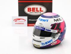 Sergio Perez Racing Point RP18 #11 formule 1 2019 casque 1:2 Bell