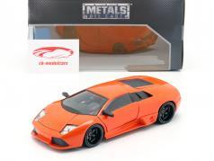 Roman's Lamborghini Murcielago film Fast & Furious 8 (2017) oranje 1:24 Jada Toys