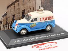 Lancia Ardea 800 van S. Martino year 1949 cream white / blue  1:43 Altaya