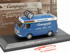 Fiat 238 van Campagnolo year 1972 blue 1:43 Altaya