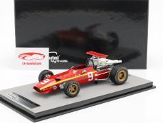 Jacky Ickx Ferrari 312 F1/68 #9 4th German GP formula 1 1968 1:18 Tecnomodel