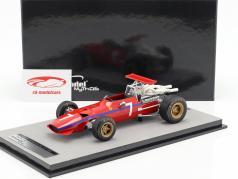 Derek Bell Ferrari 312 F1/68 #7 United States GP formula 1 1968 1:18 Tecnomodel