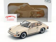 Porsche 911 (930) 3.2 Carrera Baujahr 1977 bronze metallic 1:18 Solido