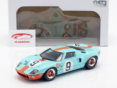 Ford GT40 Gulf #9 Winner 24h LeMans 1968 Rodriguez, Bianchi 1:18 Solido