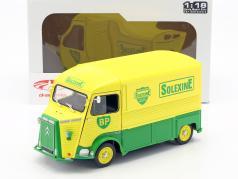 Citroen Typ H BP Solexine Baujahr 1969 gelb / grün 1:18 Solido