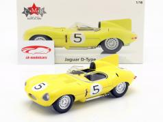 Jaguar D-Type #5 4ª 24h LeMans 1956 Swaters, Rousselle 1:18 CMR