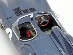Jaguar D-Type #4 胜利者 24h LeMans 1956 Sanderson, Flockhart 1:18 CMR