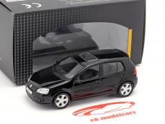 Volkswagen VW Golf GTI noir 1:43 Cararama