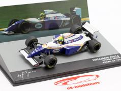 Ayrton Senna Williams FW16 #2 Brésil GP formule 1 1994 1:43 Altaya
