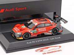 Audi RS 5 DTM #28 DTM 2019 Loic Duval 1:43 Spark